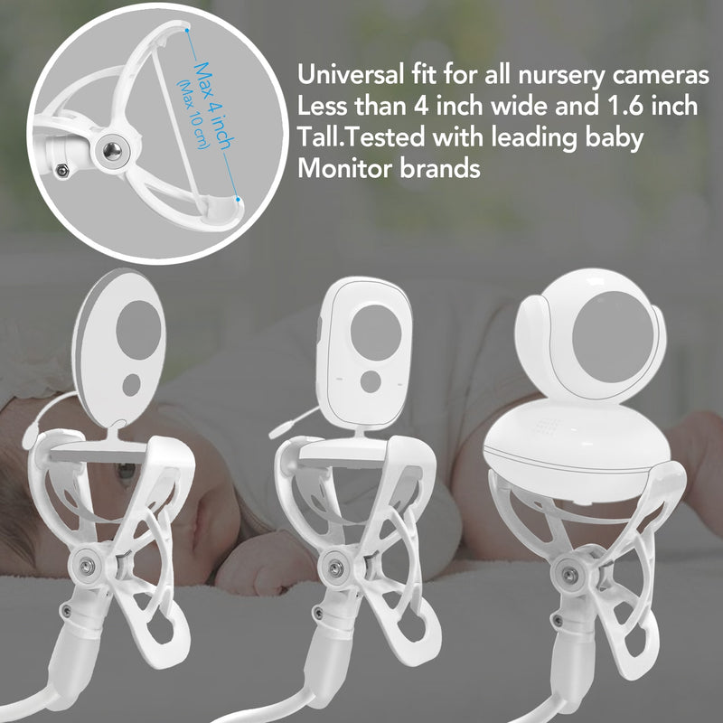 Multi-Functional Baby Monitor Phone Holder