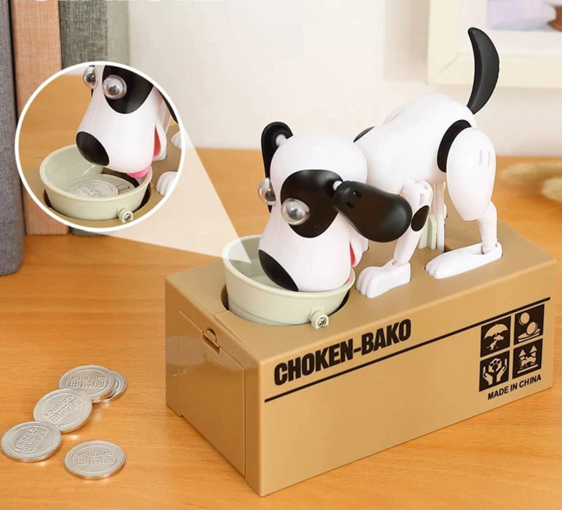 Dog Coin Money Bank