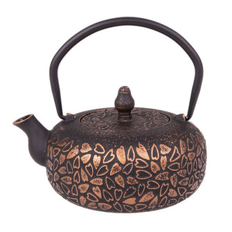 Bronze Hearts Cast Iron Teapot 600ml