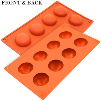 Silicone Mould Bola 8 Cups 50 x 25mm