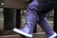 Load image into Gallery viewer, KidORCA Rain Boots with Above Knee Waders_GRAPE