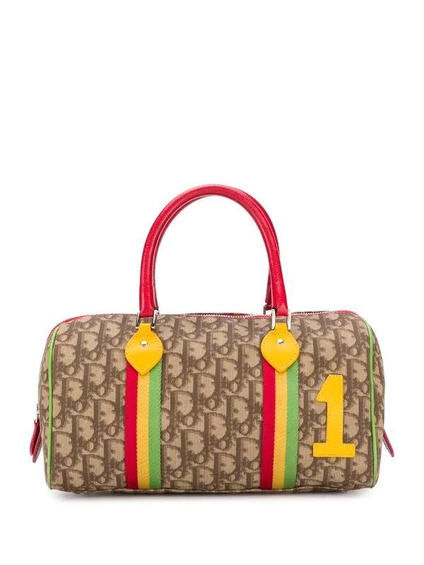 Christian Dior Rasta Boston Bag