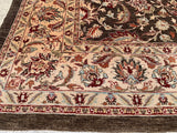 "New Pakistan Hand-Knotted Antique Recreation of 19th Century Persian Tabriz.  7'11""x 9'8"""