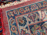 Vintage Persian Hand-Knotted Sarouk