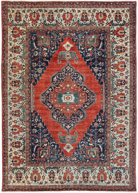 "New Pakistani Hand-Knotted Antique Recreation of 19th Century Persian Bijar. 9'8""x 13'5"""
