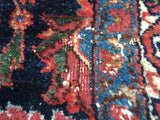 "Antique Persian Bijar Oriental Carpet.  8'8""x 11'9""  SOLD"