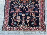 Antique Persian Sarouk Oriental Rug