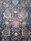"1890's Antique Persian Bijar   11'6""x 16'1"""