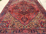 "Antique Persian Heriz Oriental Carpet  9'3""x 12'7""     SOLD"
