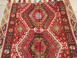 "Antique Turkish Kilim. 12'3""x 5'7"""