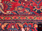 "Antique Persian Lilihan Hand-Knotted Oriental Rug    5'1""x 6'4"". SOLD"