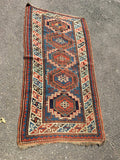 "Antique Kazak Oriental Rug    3'4""x 5'4"" SOLD"