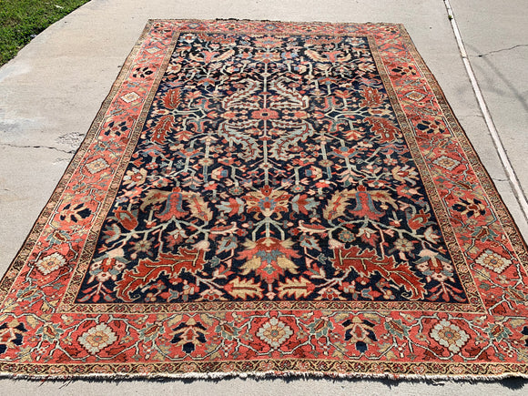 "1900's Persian Heriz 8'3""x 11'                  SOLD"