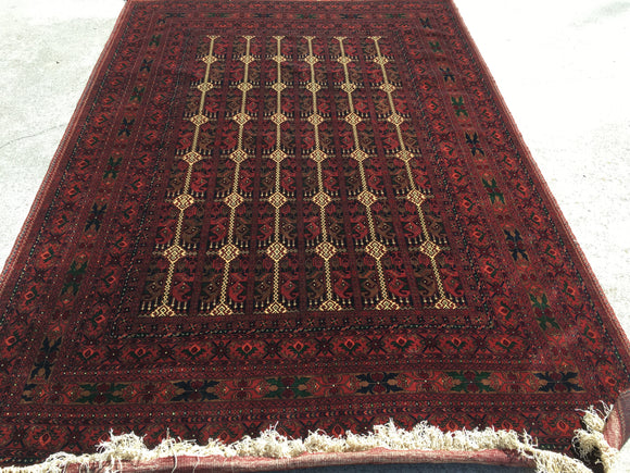 "New High Quality Hand-Knotted Carpet from Afghansitan. 6'9""x 9'8"""