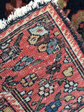 "1915 Antique Persian Bakhtiari  3'3""x 4'6"""