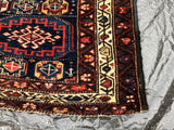 "1900's Antique Persian Kurdish Rug   4'8""x 6'5""              SOLD"