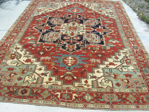 New Turkish Hand-woven Antique Reproduction Carpet