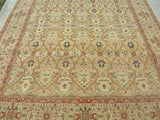 "New Pakistan Hand-woven Antique Reproduction of 19th century Persian Tabriz carpet     SOLD     8'1""x 10'9"""