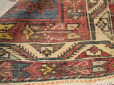 "Antique Persian Bakhtiari From The 1920's.    4'3""x 6'6"""