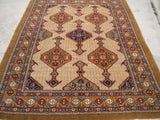 "New Pakistan Hand-woven Antique Reproduction of a 19th Century Persian Rug   6'2""x 8'7"""