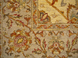 "New Pakistan Hand-woven Antique Reproduction of a 19th Century Persian rug   6'2""x 9'1"""