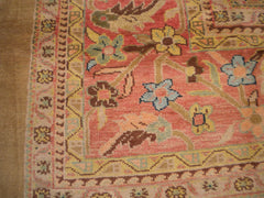 New Pakistan Hand-woven Antique Reproduction of a 19th Century Persian Carpet         10'x 13'
