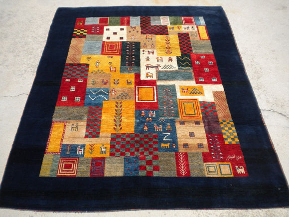 New Persian Gabbeh Rug   SOLD