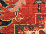 Antique Persian Hand-Knotted Heriz Oriental Carpet 8'x 12' SOLD