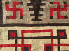"Antique Regional Navajo Rug     4'2""x 7'7""  Superb quality and condition.  SOLD"