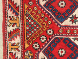 "Antique-Vintage Turkish Bergama Village Rug Circa 1940's       4'10""x 6'9""  SOLD"