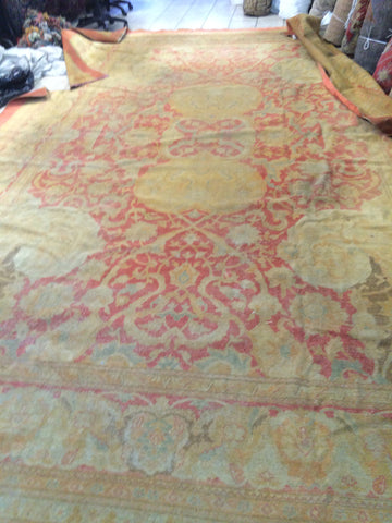 Antique Indian Amritsar Carpet    11'x 17'      SOLD