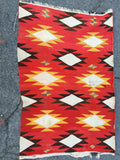 "Antique Transitional Navajo Rug with Ganado Influences        4'4""x 6'6""     SOLD"
