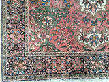 "Late 1800's Antique Persian Ferahan Carpet Rug!     4'x 6'2""          SOLD"