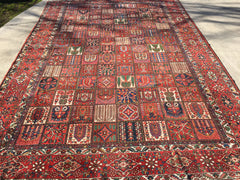 "Vintage 1930's Hand-Knotted Persian Feridan Bakhtiari   12'3""x 18'"