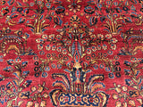 "Antique Persian Sarouk Oriental Rug  8'9""x 11'7""  ONLY $2,495.00  SOLD"