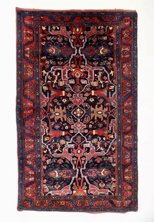 Antique Persian Enjelas Rug With Garrus Bidjar Design.