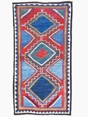 Antique Persian Gabbeh Tribal Rug