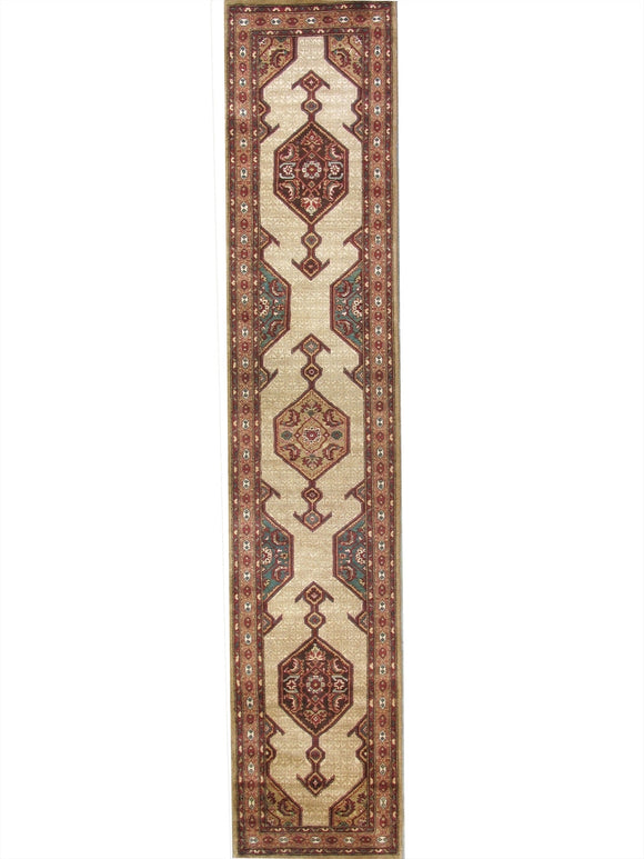 New Pakistan Hand-woven Antique Reproduction of a 19th Century Persian Serab Runner Rug  SOLD