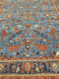 New Afghanistan HandKnotted Antique Recreation of 19th Century Persian Oriental Rug