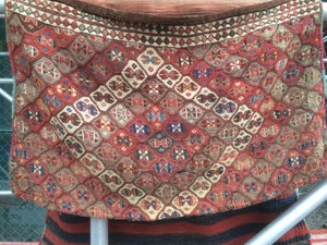 Antique Late 1800's East Anatolian Kurdish Saddle Bag   Sold