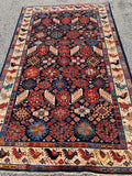 "New Afghanistan Hand Knotted Antique Recreation Of Khamseh Tribal Oriental Rug 5'2""x 8'1"""