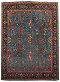 New Afghanistan Hand Knotted Antique Recreation of 19th Century Persian Oriental Rug