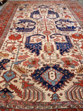 "1880's Antique Oversized Persian Serapi. 19'3""x 13'3"""