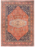 "New Afghanistan Hand Knotted Antique Recreation Of 1900's Persian Bidjar Oriental Rug  10""x 13'11"""