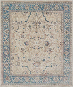 New Pakistan Hand-Knotted Antique Recreation Of An Antique Persian Ferahan   8'x 9'6""