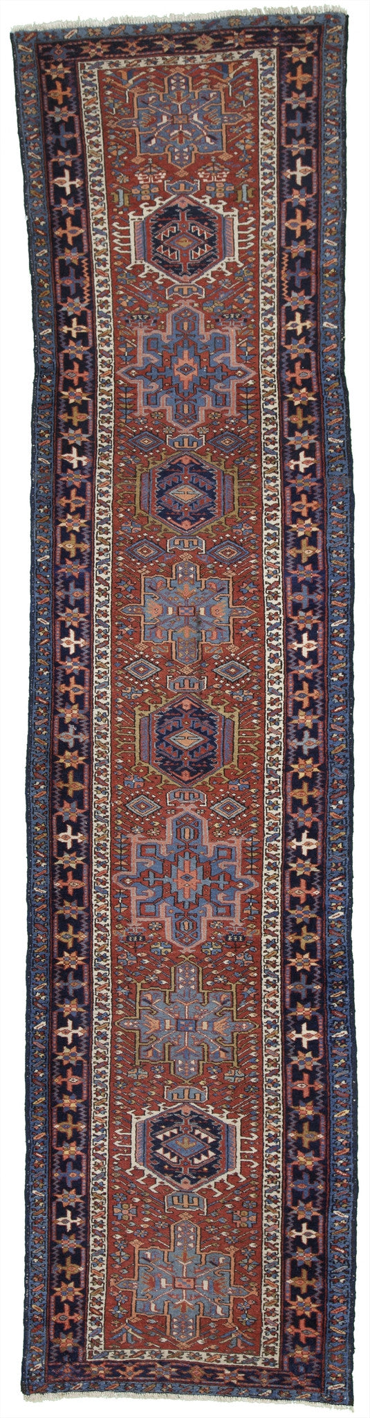 Antique Persian Karajeh Runner Rug               3'x 12'6