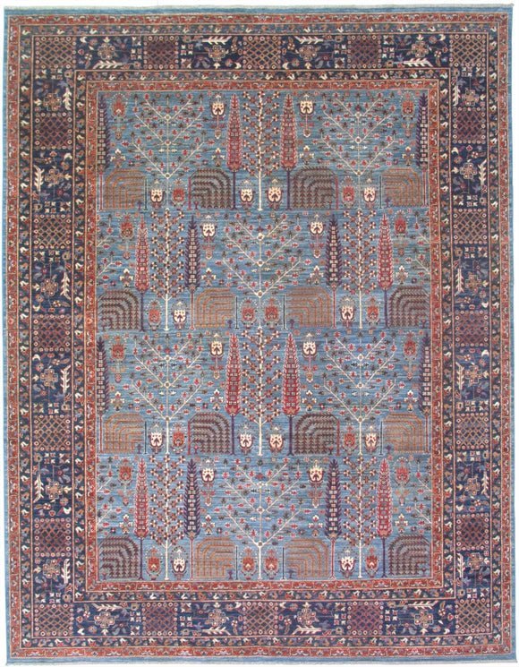 New Pakistan Hand-woven Antique Reproduction of a 19th Century Persian Bakhshayish Carpet     SOLD