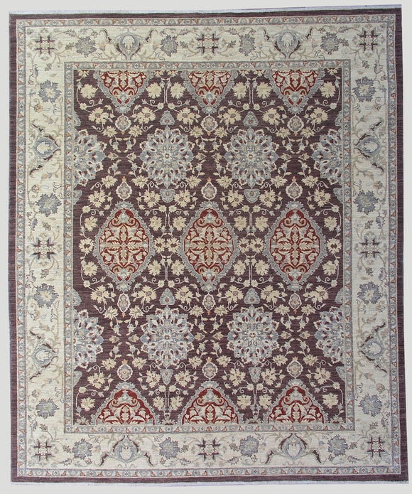 New Pakistan Hand-woven Antique Reproduction of Ottoman Textile Carpet