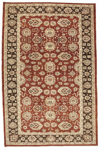 New Pakistan Hand-woven Antique Reproduction of a Persian Carpet