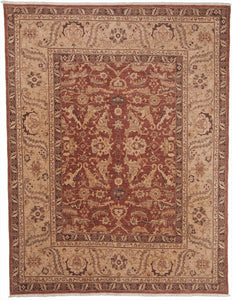 New Pakistan Hand-woven Antique Reproduction of an Antique Persian Carpet